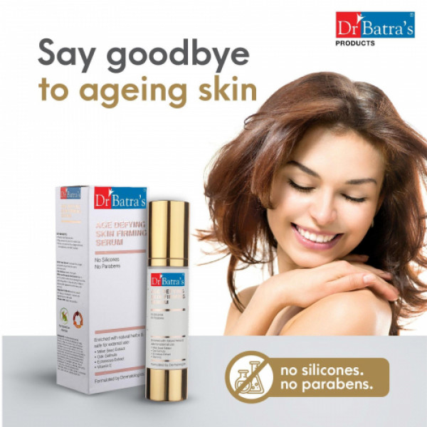 Dr Batra's Age defying Skin firming Serum With Foot Care Cream Combo Pack