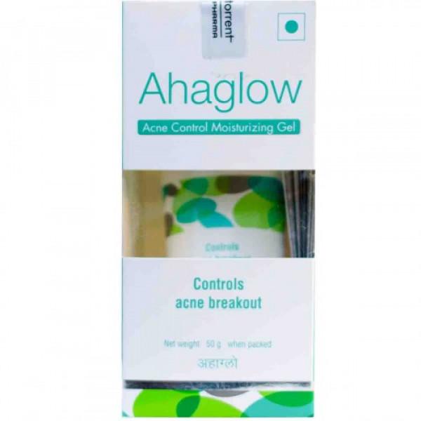 Ahaglow Acne Control Moisturizing Gel, 50gm