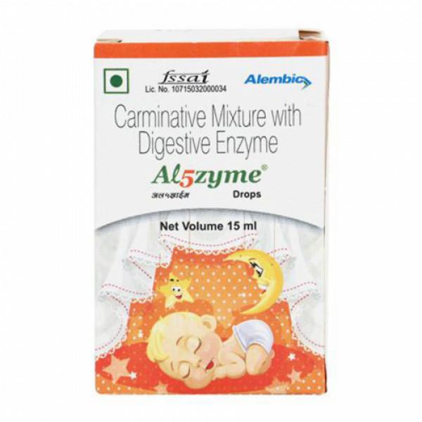 Al5Zyme Drops, 15ml