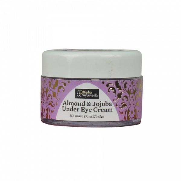 Bipha Ayurveda Almond & Jojoba Under Eye Cream, 10gm