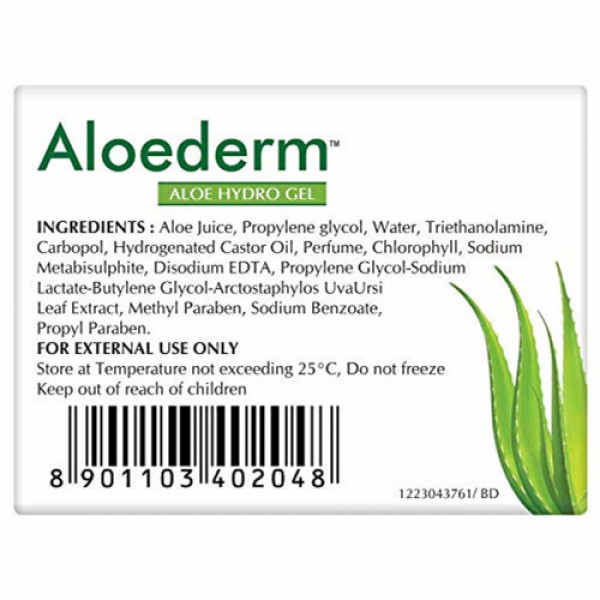 Aloederm Aloe Hydro Gel, 50gm