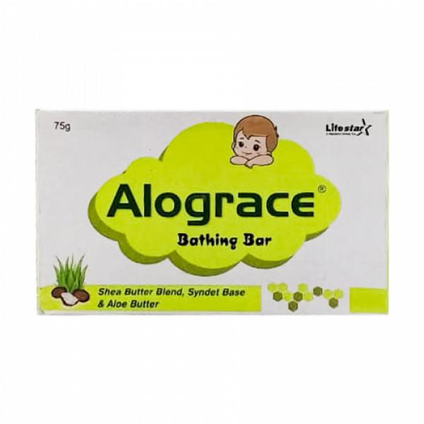 Alograce Bathing Bar, 75gm