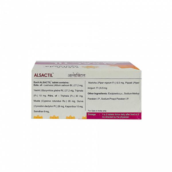 Kerala Ayurveda Alsactil, 100 Tablets