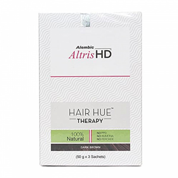 Altris HD - Hair Hue Therapy - Dark Brown, 150gm
