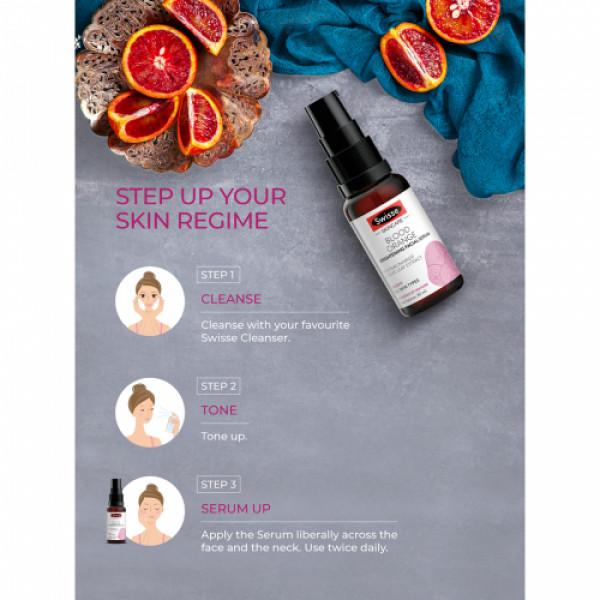 Swisse Skincare Blood Orange Brightening Facial Serum, 30ml