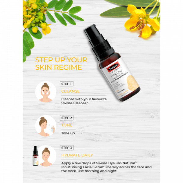 Swisse Skincare Hyaluro-Natural Hydration Boost Serum, 30ml