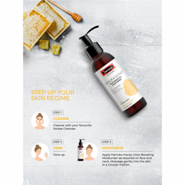 Swisse Skincare Manuka Honey Glow Boosting Moisturizer, 120ml