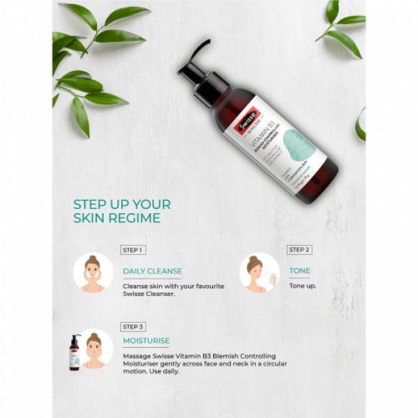 Swisse Skincare Vitamin B3 Blemish Controlling Moisturizer, 120ml