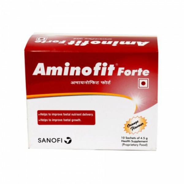 Aminofit Forte Sachet, 4.5gm