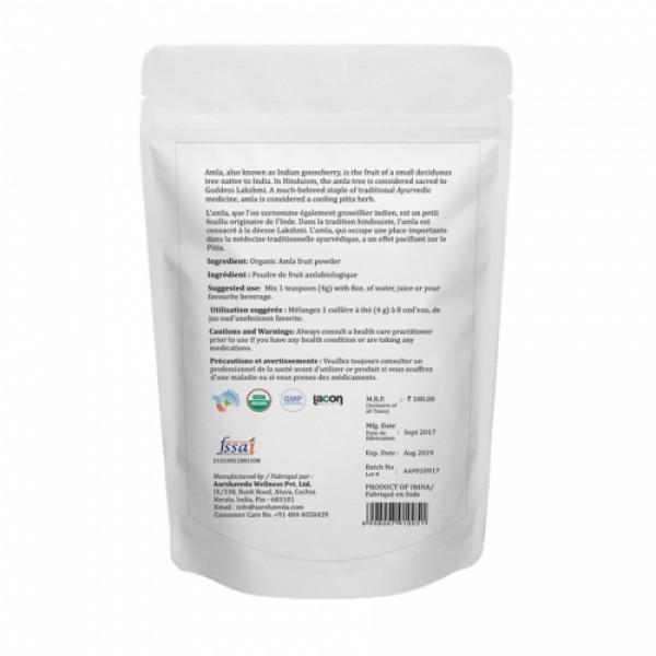 Aarshaveda Organic Amla Powder, 200gm