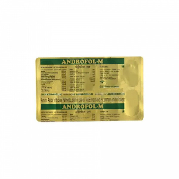 Androfol M, 10 Tablets