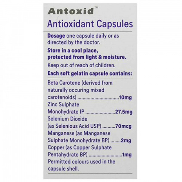 Antoxid, 30 Capsules