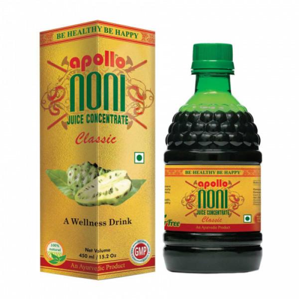Apollo Noni Classic Juice Concentrate, 450ml