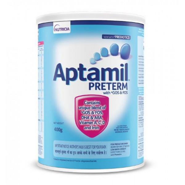 Aptamil Preterm Powder For Premature Babies, 400gm