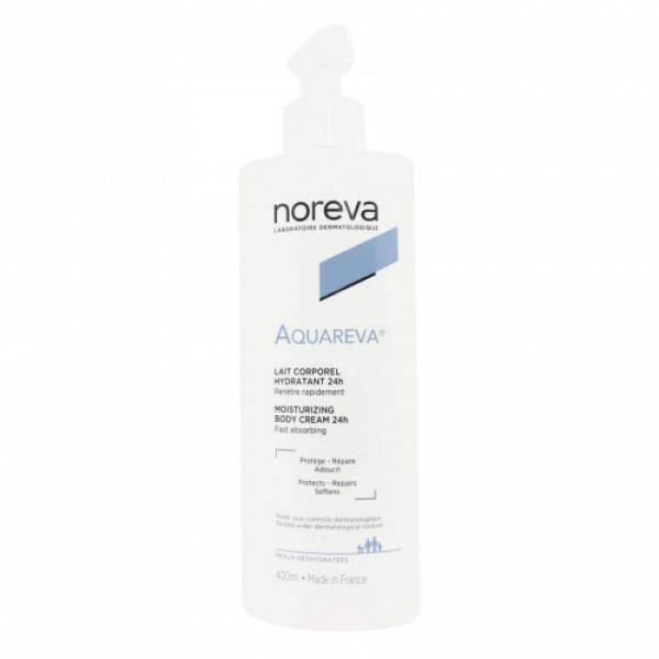 Aquareva Moisturising Body Cream, 400ml
