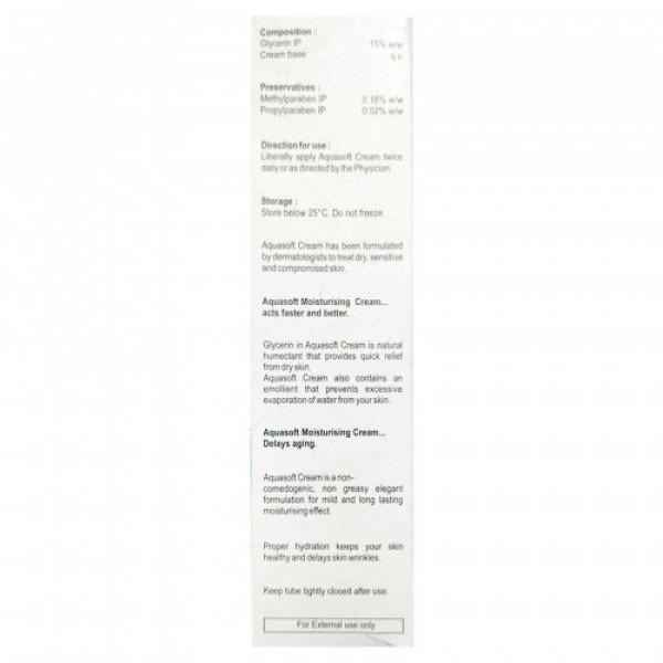 Aquasoft Glycerin Cream 15% w/w, 100gm