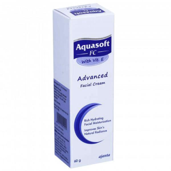 Aquasoft FC Advanced Facial Cream with Vitamin E, 60gm