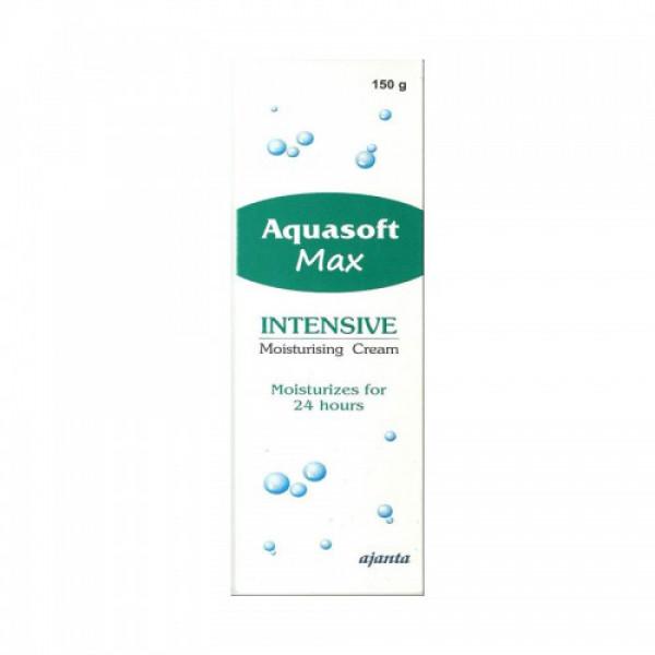 Aquasoft Max Intensive Moisturizing Cream, 150gm