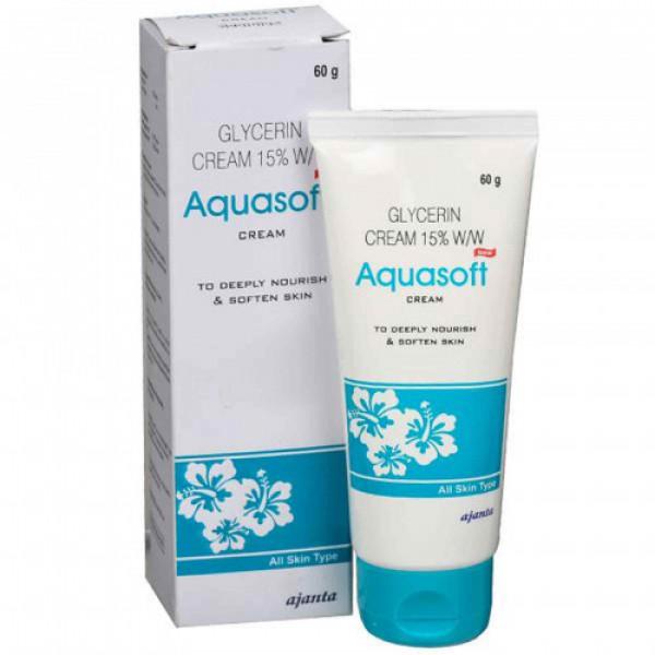Aquasoft Glycerin Cream 15% w/w, 60gm