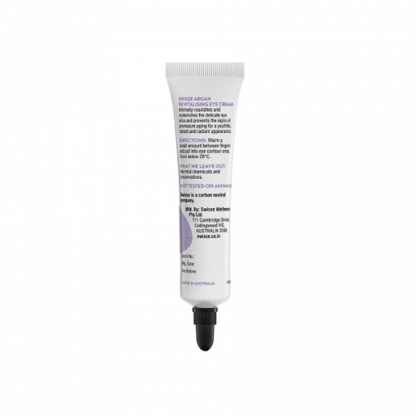 Swisse Skincare Argan Revitalizing Eye Cream, 15ml