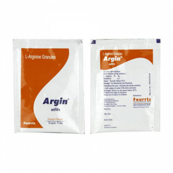 Argin Sachets Orange, 5gm
