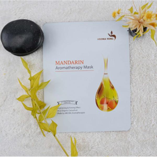 Aroma Yong Mandarin Aromatherapy Face Mask, 81gm (Pack Of 3)