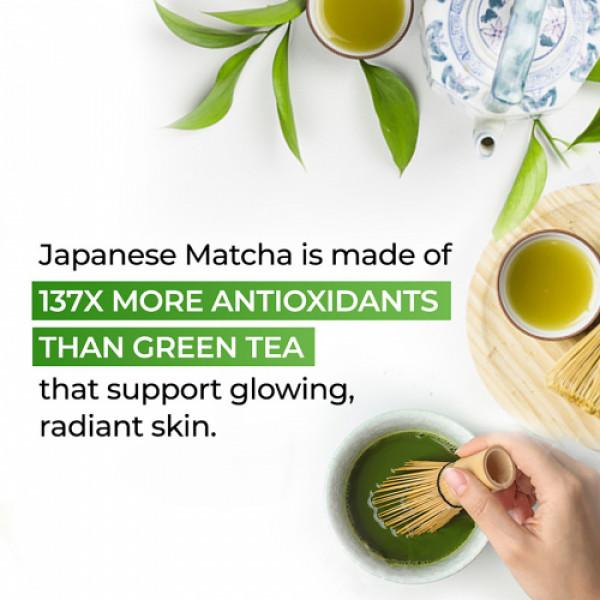 Plix Life Japanese Matcha with Ginseng & Licorice Effervescent Lemon Flavour, 15 Tablets