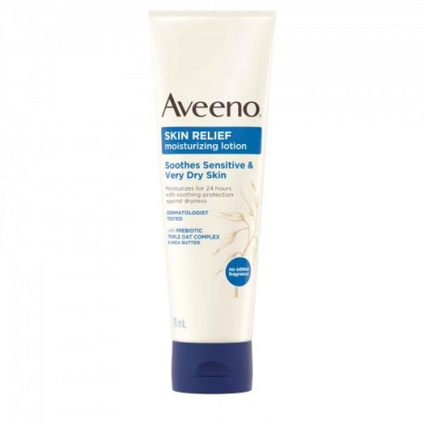 Aveeno Very Dry Skin Relief Moisturizing Lotion, 71ml