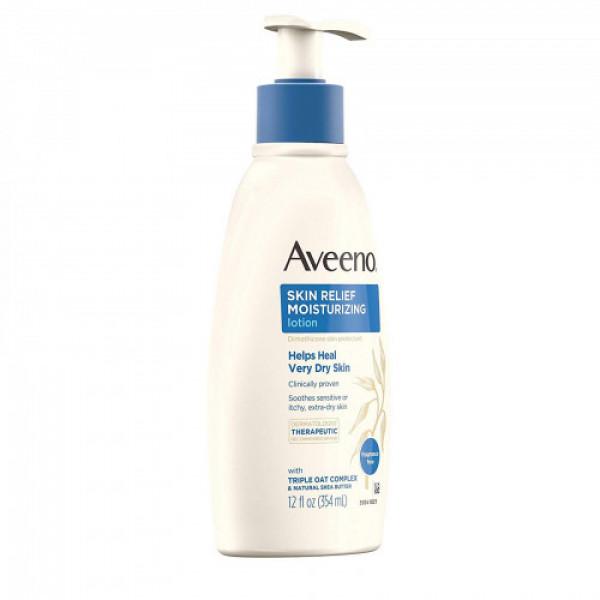 Aveeno Very Dry Skin Relief Moisturizing Lotion, 354ml