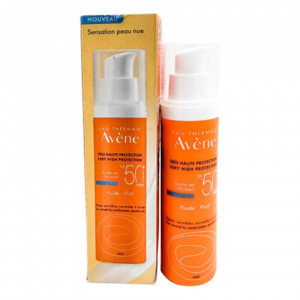 Avene Very High Protection Dry Touch Fluid SPF 50, 50ml
