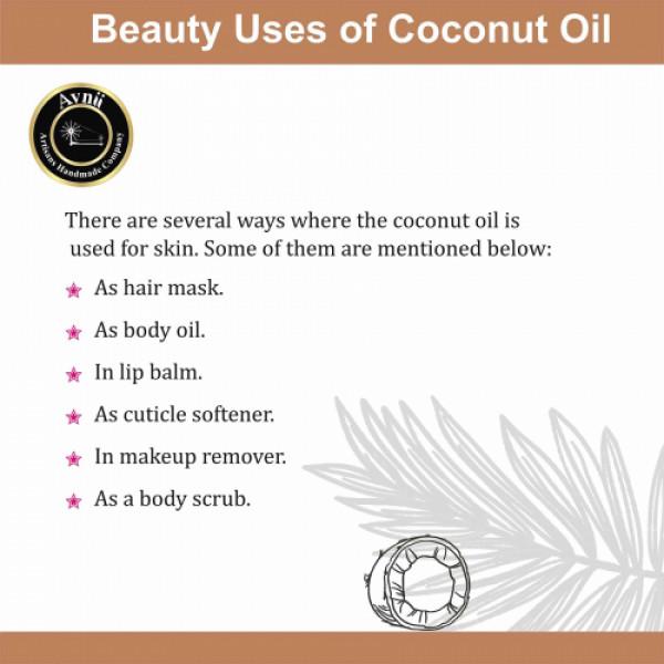 Avnii Organics Cold Pressed Virgin Coconut Oil, 200ml
