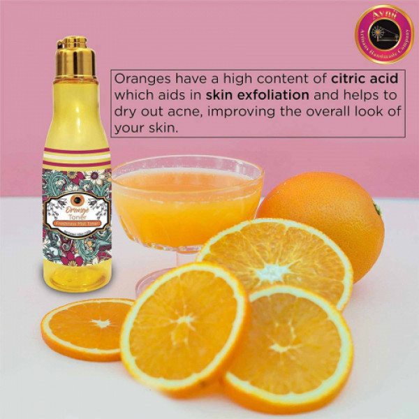 Avnii Organics Orange Toner, 100ml