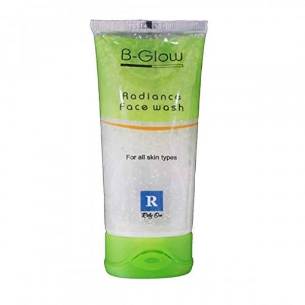 B glow face wash, 75gm