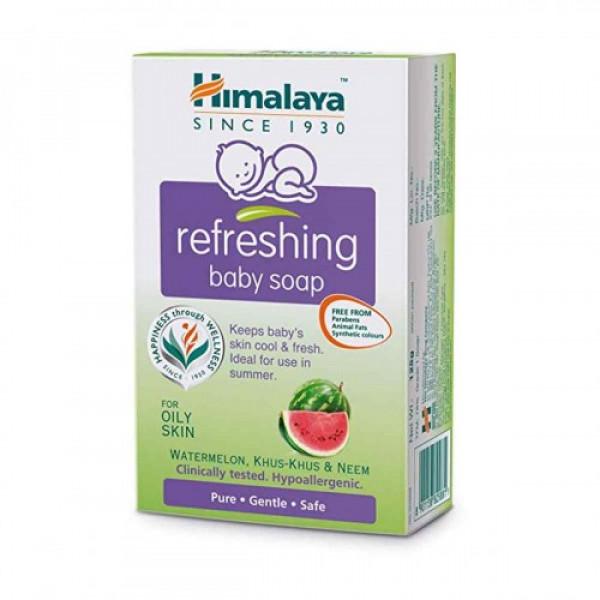 Himalaya Baby Refreshing Soap, 75gm