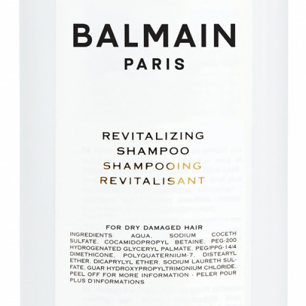 Balmain Paris Hair Care Revitalizing Shampoo, 1000ml