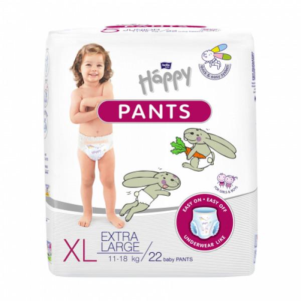 Bella Baby Happy Pants Extra Large, 22 Pieces