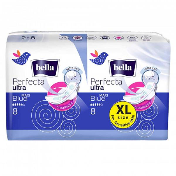 Bella Perfecta Ultrathin Sanitary Napkins Maxi Soft, 16 Pieces