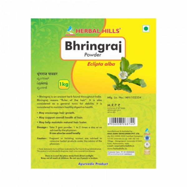 Herbal Hills Bhringraj Powder, 1Kg (Pack Of 2)
