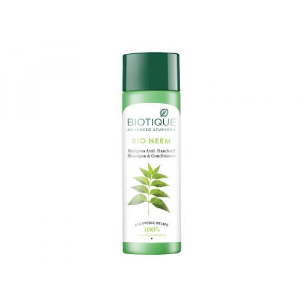 Biotique Bio Neem Margosa Anti Dandruff Shampoo & Conditioner, 190ml