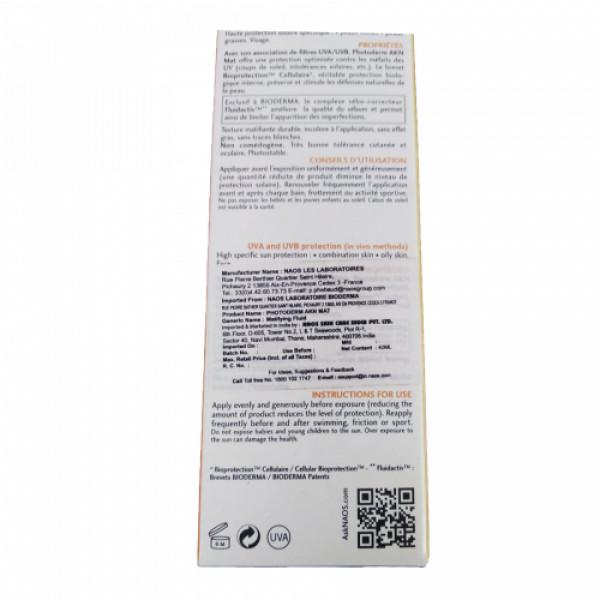 Bioderma Photoderm AKN Mat SPF 30, 40ml