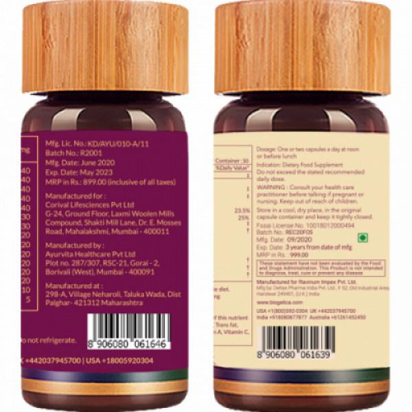 Biogetica Core Immunity Kit, 60 Capsules