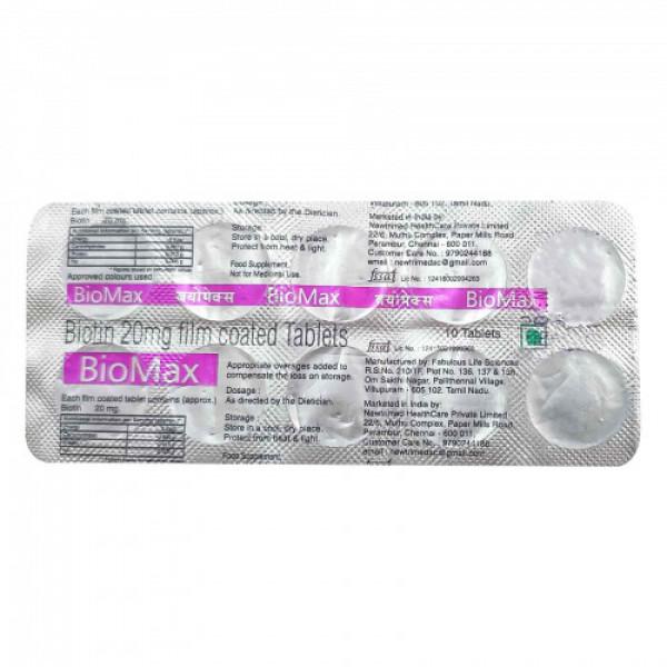 BioMax, 10 Tablets