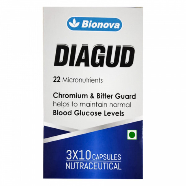 Bionova Diagud, 30 Capsules
