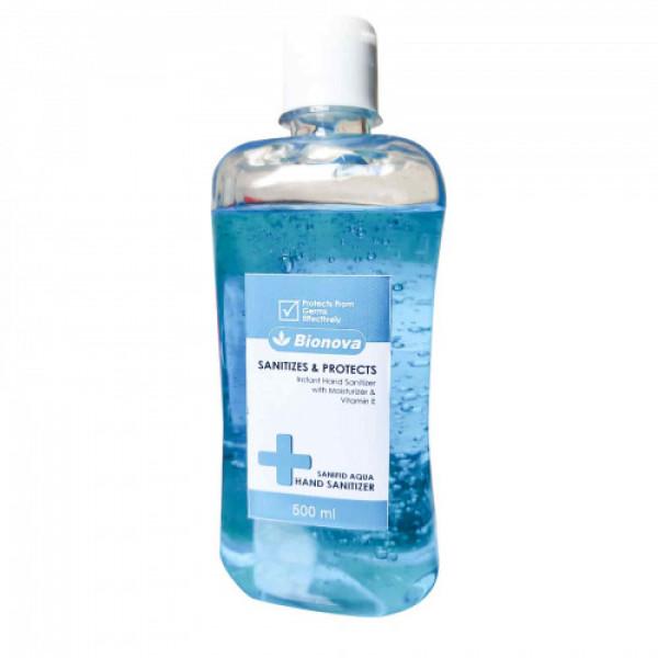 Bionova 69% Alcohol Based Instant Hand Sanitizer, 500ml