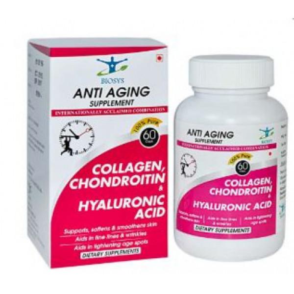 Biosys Antiaging Supplement, 60 Capsules