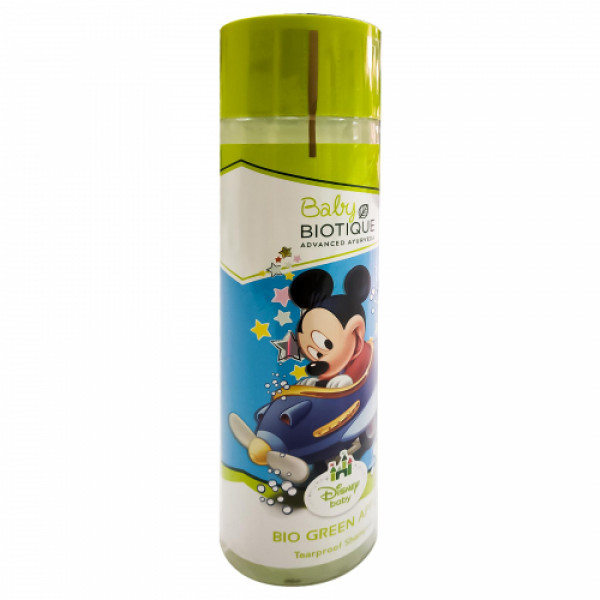 Biotique Bio Green Apple Mickey Tearproof Shampoo, 190ml