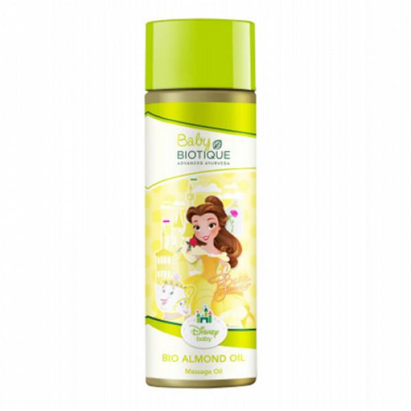 Biotique Bio Almond Baby Princess Massage Oil, 200ml