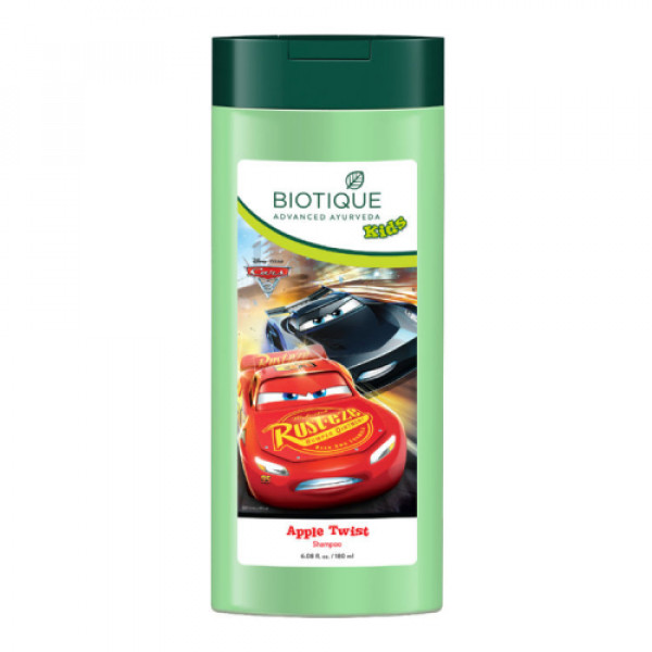 Biotique Apple Twist Cars Shampoo, 180ml