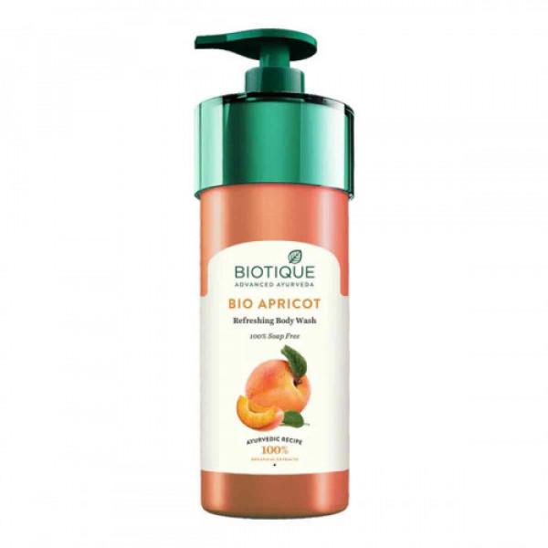Biotique Bio Apricot Refreshing Body Wash, 800ml