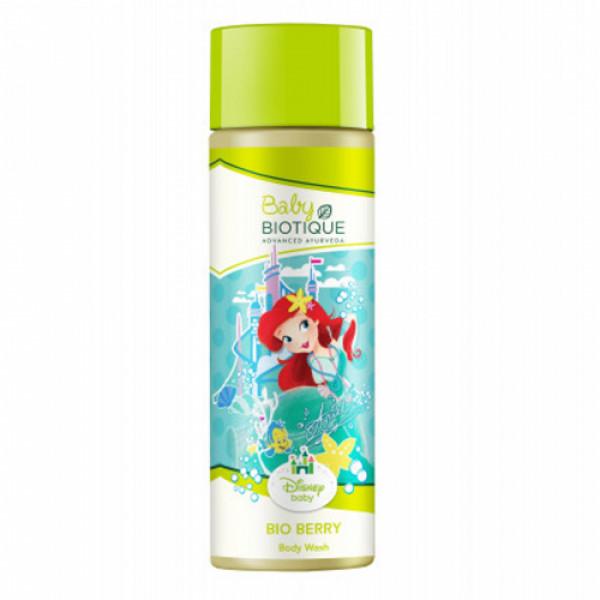 Biotique Bio Berry Baby Disney Princess Body Wash,190ml